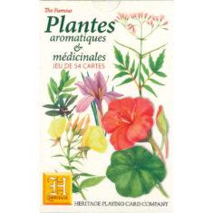 Jeu de cartes aromatiques medicinales