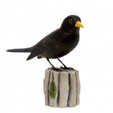 Oiseaux en bois décoratifs