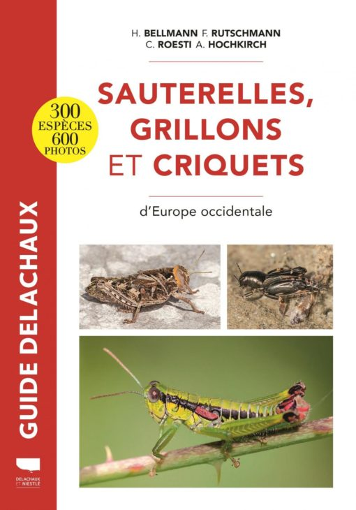Guide Delachaux Orthoptères