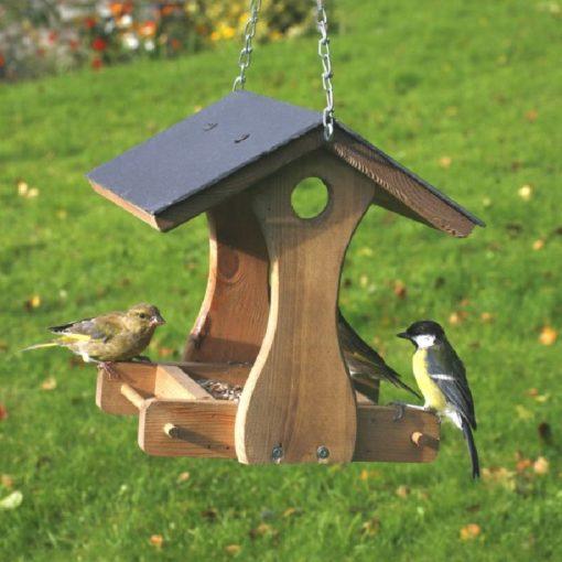 mangeoire oiseaux plateau pour graines