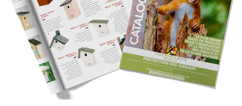 Nouveauté ! La revue L'Homme et l'Oiseau et le catalogue 2021de la Boutique Verte sont arrivés !
