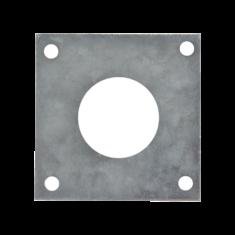 plaque protection nichoir
